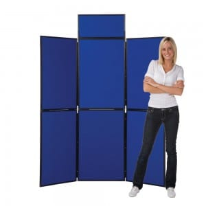 6_panel_display_stand_plastic_frame_blue