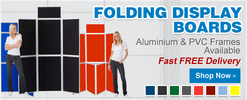 Folding Display Boards