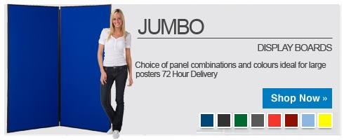 Jumbo Display Stands and Boards