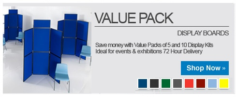 Value Pack Display Boards