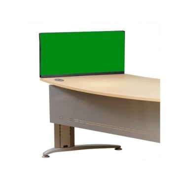 Economy Desktop Screen 790mm x 390mm x 390mm Nyloop Fabric