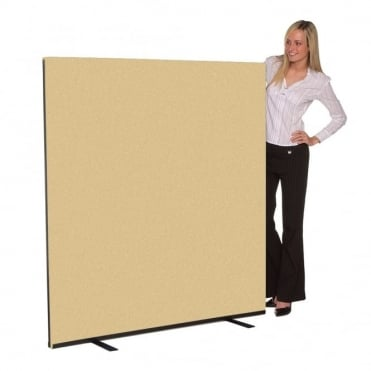 Office Partition 1500mm wide Woolmix Fabric