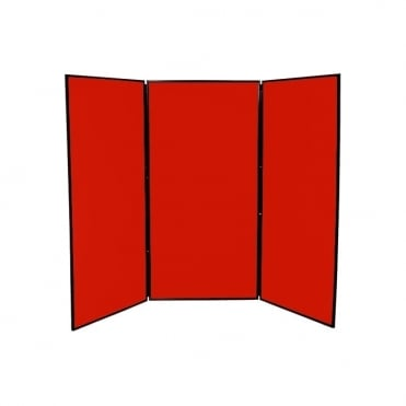 10 Pack of Jumbo Display Boards, 3 Panel
