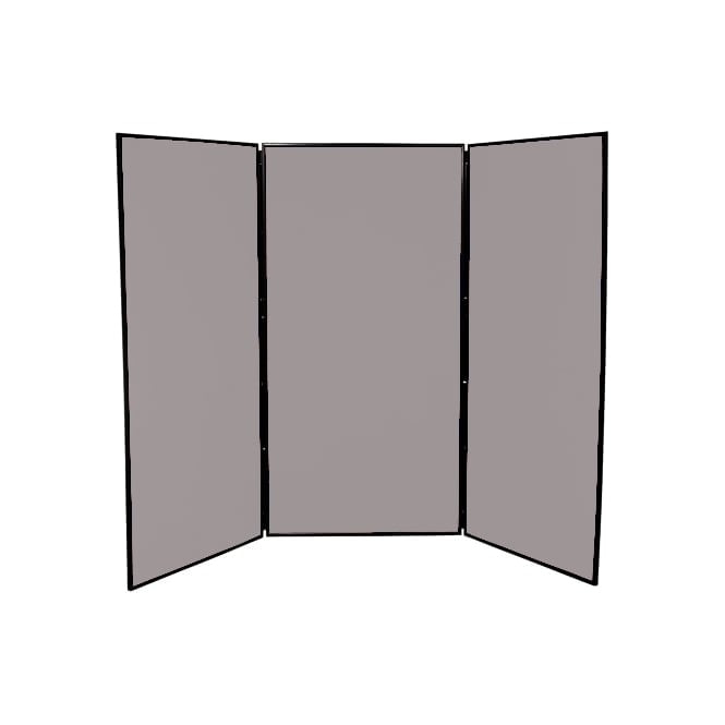 5 Pack of Jumbo Display Boards, 3 Panel