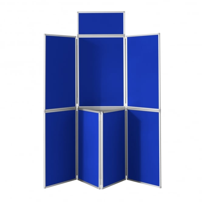 7 Panel Display Boards with Aluminium Frame and Case