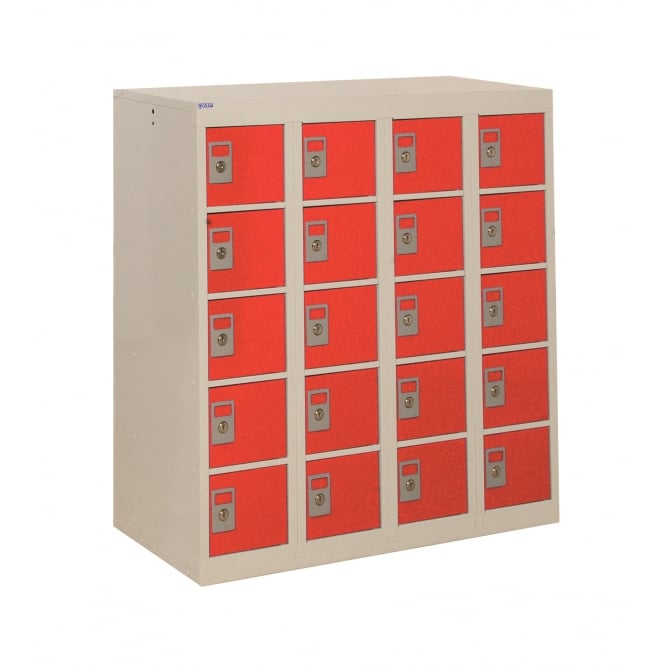 Armour Personal Effects Lockers, 20 Tiers