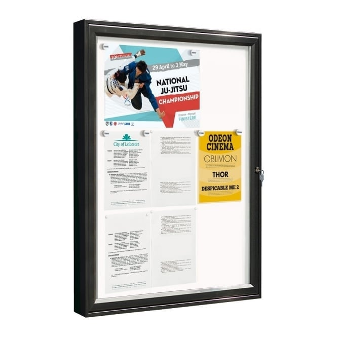 Classic External Notice Board (Painted Frame)