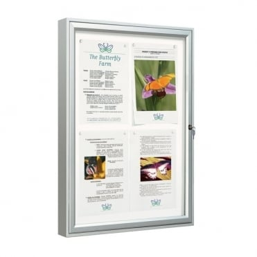 Classic External Notice Boards (Anodised Frame)