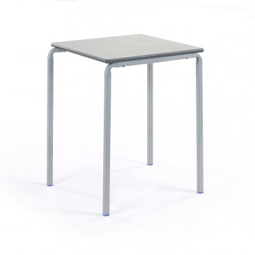 Crush Bent Square Classroom Table PU Edge