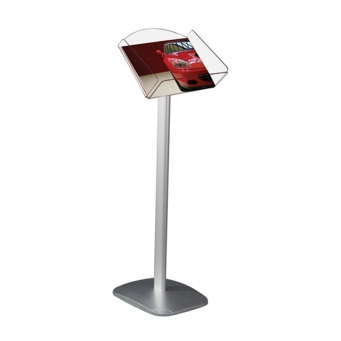 Decorative Brochure Display Stand, A4 Landscape