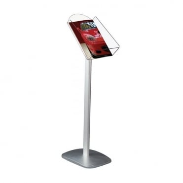 Decorative Brochure Display Stand, A4 Portrait