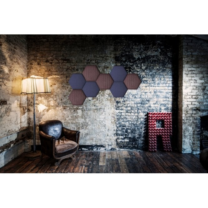 Eden Hexagonal Acoustic Tiles