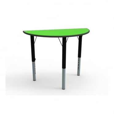 Height Adjustable Semi Circular Classroom Table