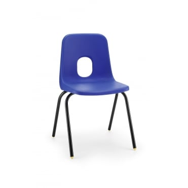 Hille Series E Classroom Chair, Blue, Fast Delivery