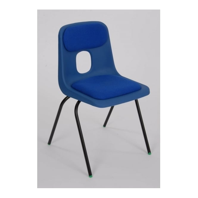 Hille Series E Classroom Chair with Seat and Back Pad
