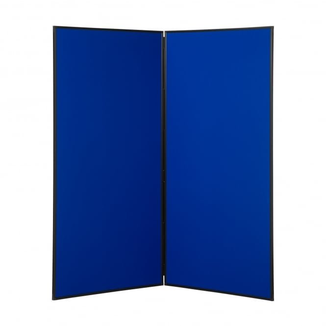 Jumbo Display Boards, 2 Panel with Black Plastic Frame