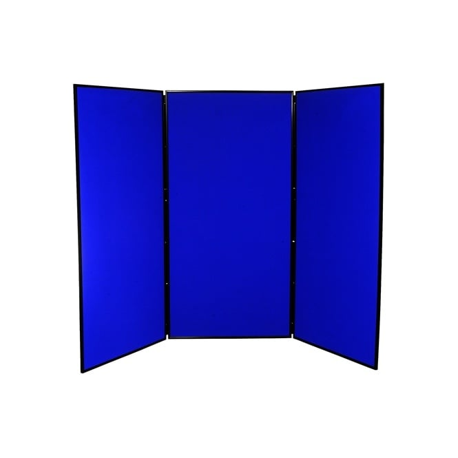 Jumbo Display Boards, 3 Panel with Black Plastic Frame