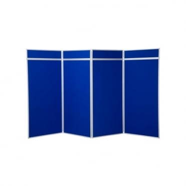 Jumbo Display Boards, 4 Panel with Aluminium Frame