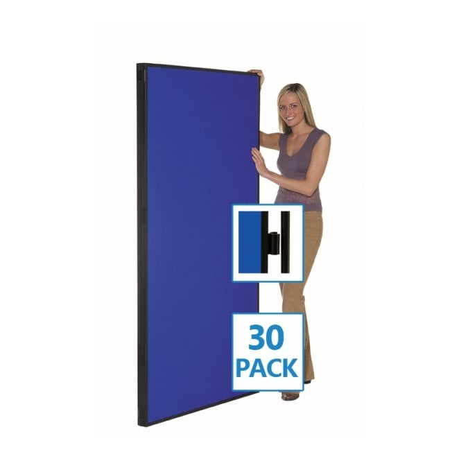 Jumbo Display Boards, Panel and Pole, Value 30 Pack