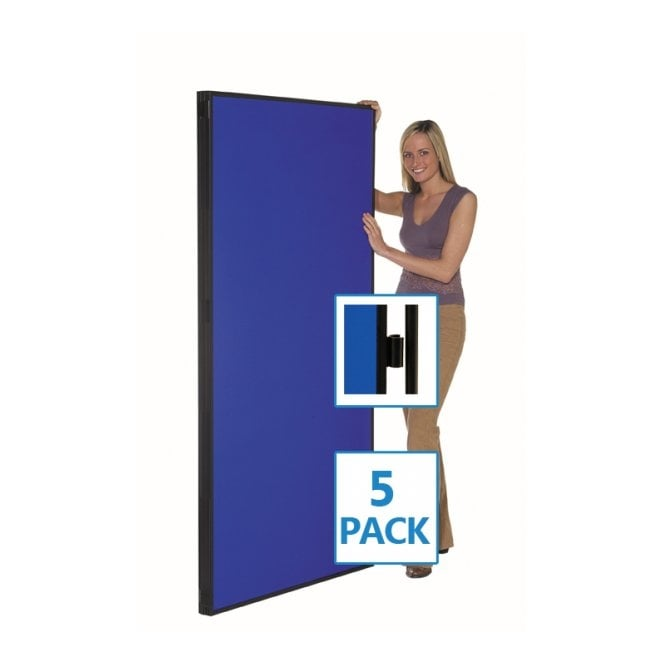 Jumbo Display Boards, Panel and Pole, Value 5 Pack