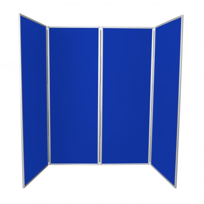 Junior Jumbo Display Boards, 4 Panel, Grey Frame