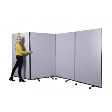 Mobile Office Screens Partitions - Panel Warehouse