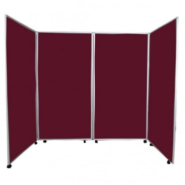 Mobile Economy Display Screens Wine, 4 Panel