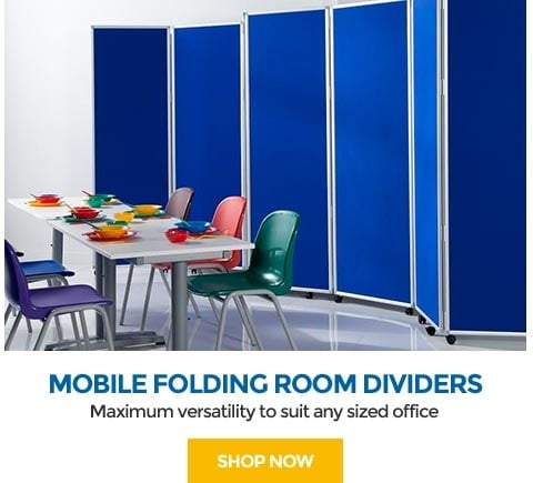 Mobile Folding Room Dividers