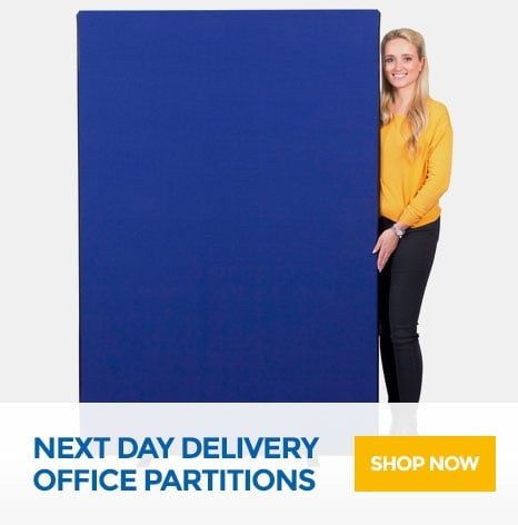 Next Day Delivery Office Partitions