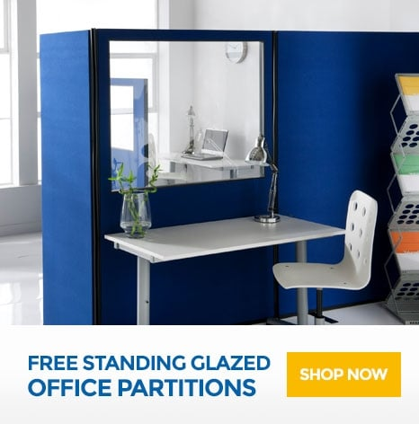 Free Standing Glazed Office Partitions