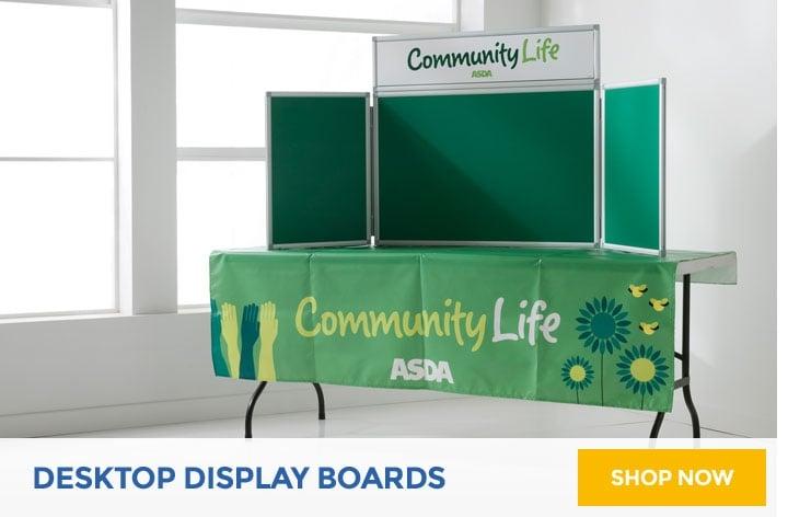 Desktop Display Boards