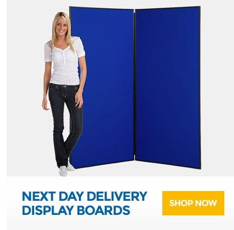 Next Day Delivery Display Boards