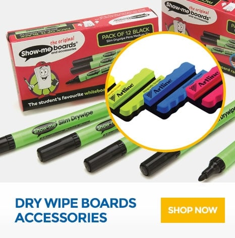 Dry Wipe Boards Accessories