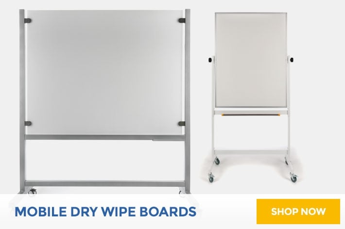 Mobile Dry Wipe Boards