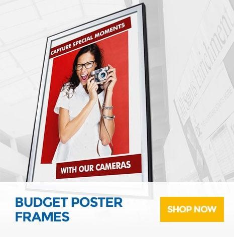 Budget Poster Frames