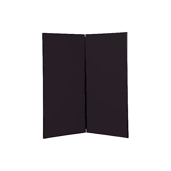 Next Day Delivery Jumbo Display Boards, 2 Panel, Colour Black