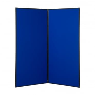Next Day Delivery Jumbo Display Boards, 2 Panel, Colour Blue
