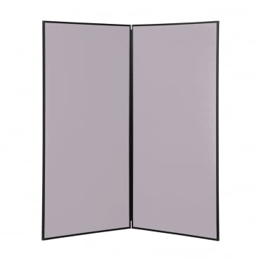 Next Day Delivery Jumbo Display Boards, 2 Panel, Colour Grey