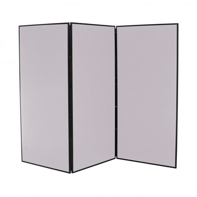 Next Day Delivery Jumbo Display Boards, 3 Panel, Colour Grey