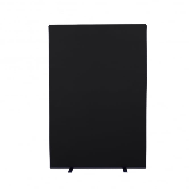 Next Day Delivery Office Screens Size: 1200mm w x 1800mm h Colour: Black