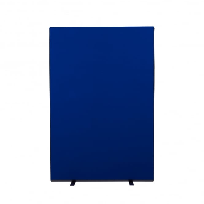 Next Day Delivery Office Screens Size: 1200mm w x 1800mm h Colour: Blue