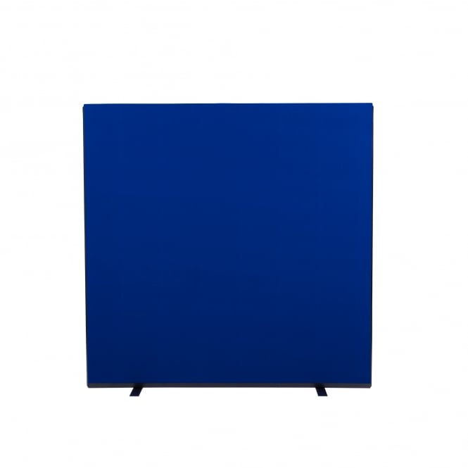 Next Day Delivery Office Screens Size: 1500mm w x 1500mm h Colour: Blue