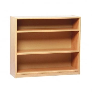 Open Book Case with 2 Adjustable Shelves 750mm H
