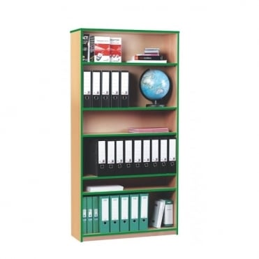 Open Bookcase 1 Fixed Shelf and 4 Adjustable Shelves
