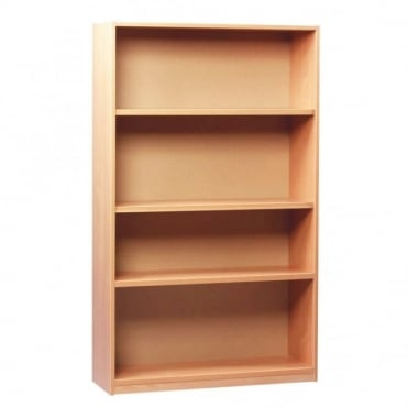 Open Bookcase with 1 Fixed and 2 Adjustable Shelves 1500mm H