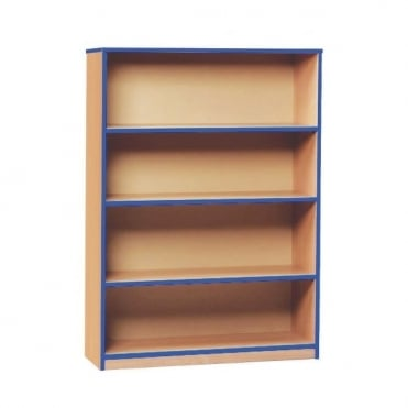 Open Bookcase with 1 Fixed Shelf and 2 Adjustable Shelves
