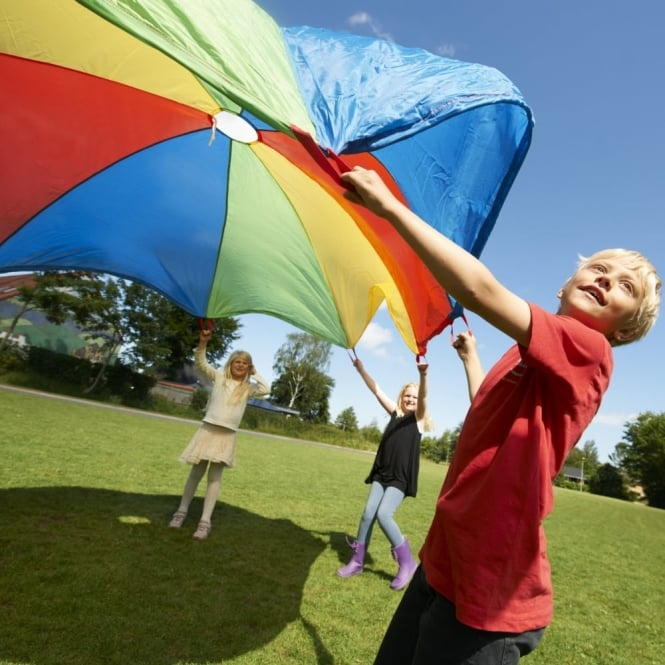Parachute 7 Metres - School Outdoor Play Equipment