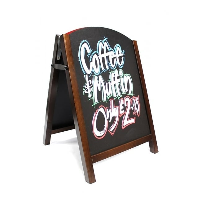 Premier Chalk Board with a Wood Frame