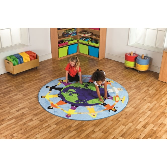 Primary World Cultural Carpet