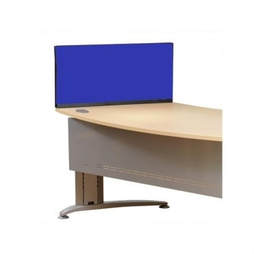 Economy Desk Screen Dividers 790mm x 390mm x 390mm Nyloop Fabric